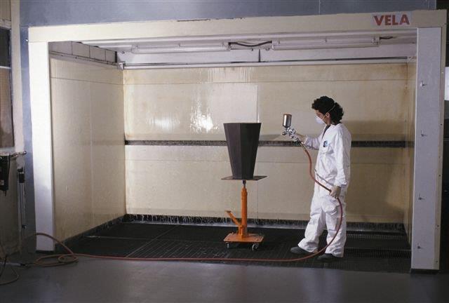 Finishing Process - Cavalieri Polyester Polyurethane Finishing